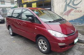 Selling Red 2005 Toyota Previa Automatic in Makati