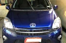 Sell Blue 2015 Toyota Wigo Hatchback at 23000 km