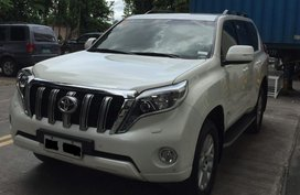 Selling Used 2016 Toyota Land Cruiser Prado in Manila