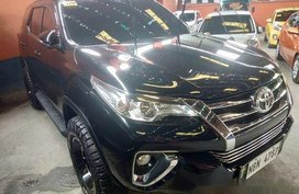 Black Toyota Fortuner 2017 Automatic Diesel for sale