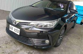 Sell Black 2017 Toyota Corolla Altis Automatic Gasoline at 14000 km
