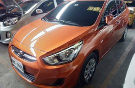 Selling Orange Hyundai Accent 2017 Automatic Diesel