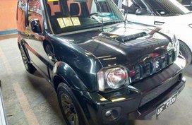 Black Suzuki Jimny 2017 Manual Gasoline for sale in Quezon City