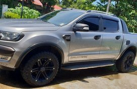 Silver Ford Ranger 2016 Manual for sale