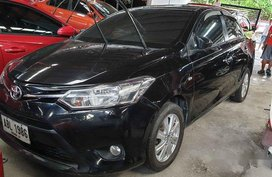 Black Toyota Vios 2015 Manual Gasoline for sale