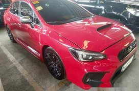 Red Subaru Wrx 2018 Automatic Gasoline for sale in Quezon City