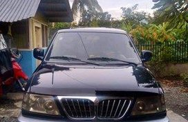 Black Mitsubishi Adventure 2002 at 80000 km for sale