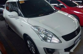 Selling White Suzuki Swift 2016 Automatic Gasoline in Quezon City