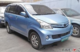 Blue 2013 Toyota Avanza for sale