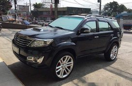 Blue Toyota Fortuner 2013 Manual Diesel for sale