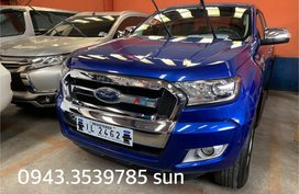 Blue 2016 Ford Everest at 18000 km for sale