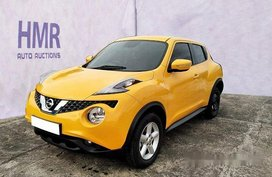 Yellow Nissan Juke 2018 for sale in Parañaque