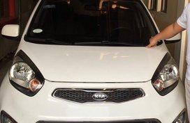 White Kia Picanto 2011 Manual Gasoline for sale