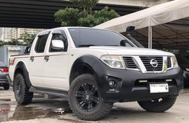 White 2014 Nissan Navara Manual Diesel for sale