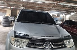 Silver 2014 Mitsubishi Montero for sale in Quezon City