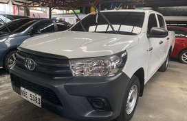 White Toyota Hilux 2019 for sale in Quezon City