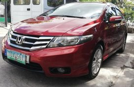 Red Honda City 2014 for sale in Las Pinas