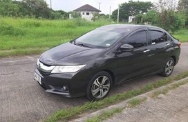 Black 2014 Honda City at 88000 km for sale