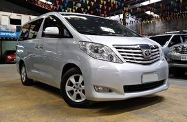 Silver 2011 Toyota Alphard Van at 67000 km for sale
