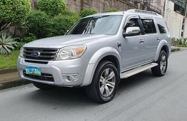 Silver 2012 Ford Everest Automatic Diesel for sale