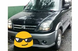 Black Mitsubishi Adventure 2011 Manual Diesel for sale