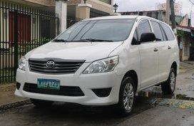 White 2014 Toyota Innova at 53000 km for sale