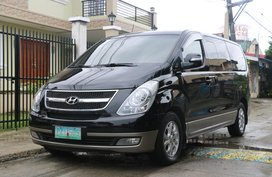 Black 2010 Hyundai Grand Starex at 63000 km for sale