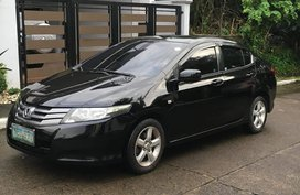 Black Honda City 2009 at 81000 km for sale in Angeles