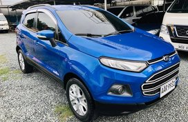 Blue 2014 Ford Ecosport Automatic Gasoline for sale
