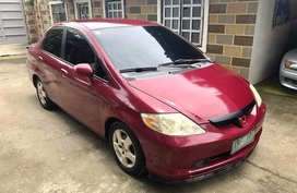 Selling Red Honda City 2003 Automatic Gasoline