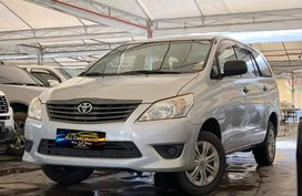 Silver 2013 Toyota Innova Manual Gasoline for sale