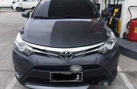 Selling Grey Toyota Vios 2016 Manual Gasoline at 43000 km