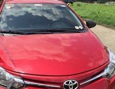 Red Toyota Vios 2016 Manual Gasoline for sale
