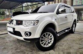 Selling White Mitsubishi Montero Sport 2012 Automatic Diesel