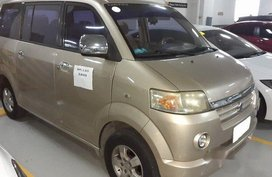 Selling Beige Suzuki Apv 2007 Automatic Gasoline at 124000 km