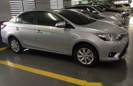 Silver Toyota Vios 2015 at 76000 km for sale