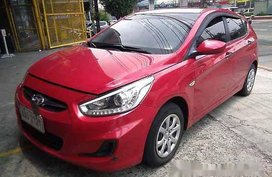 Red Hyundai Accent 2014 Automatic Diesel for sale