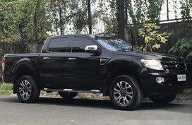 Black Ford Ranger 2014 Manual Diesel for sale