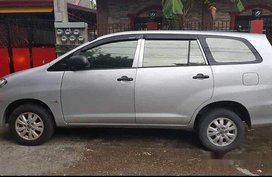 Silver Toyota Innova 2010 Manual Diesel for sale