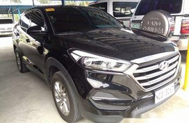 Black Hyundai Tucson 2016 for sale in Parañaque