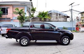 Black 2015 Mitsubishi Strada for sale in Lemery