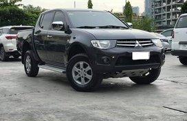 Black 2013 Mitsubishi Strada Manual Diesel for sale