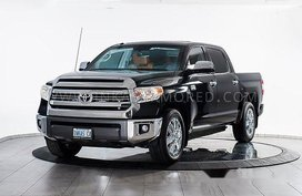 Black Toyota Tundra 2019 Automatic Gasoline for sale