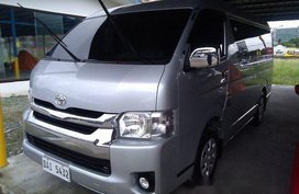 Selling Silver Toyota Hiace 2018 Manual Diesel at 17250 km