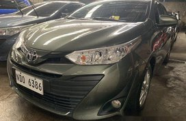 Sell Green 2019 Toyota Vios at 3300 km