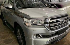 Silver Toyota Land Cruiser 2019 Automatic Diesel for sale