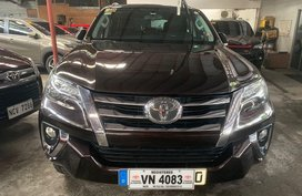 Brown Toyota Fortuner 2017 for sale in Quezon City