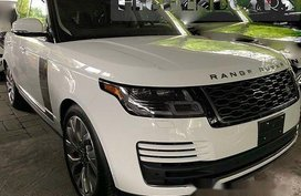 White Land Rover Range Rover 2019 Automatic Gasoline for sale