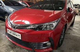 Selling Red Toyota Corolla Altis 2018 Manual Gasoline