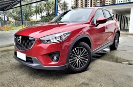 Red 2014 Mazda Cx-5 Automatic Gasoline for sale
